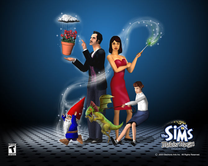 The_sims_makin_magic_wallpaper_1280x1024