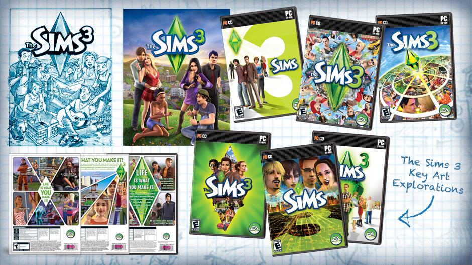 Sims 3 Logo: Intro Ea And Maxis The Sims 3 V1 50