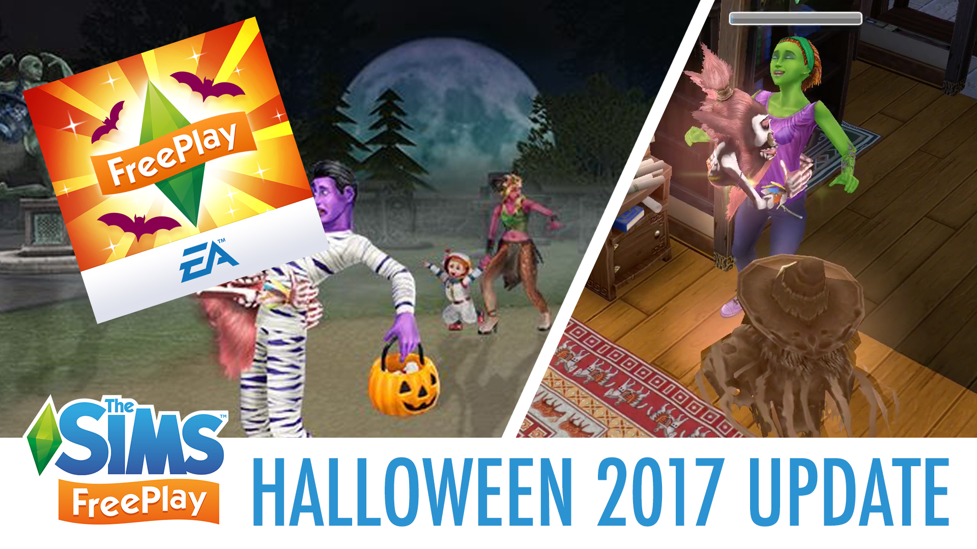 Halloween 2020 Sims Ghost Flustered Quest Walkthrough   Sims FreePlay Halloween Update